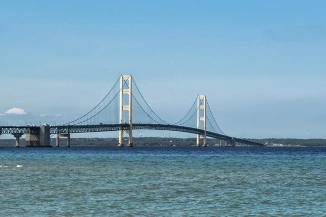 Mackinaw Bridge Michigan