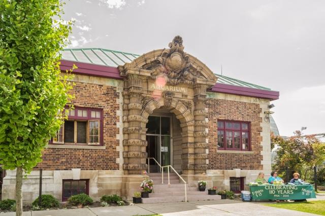 Belle Isle Aquarium Albert Kahn