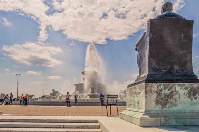 James A. Scott Memorial Fountain Belle Isle