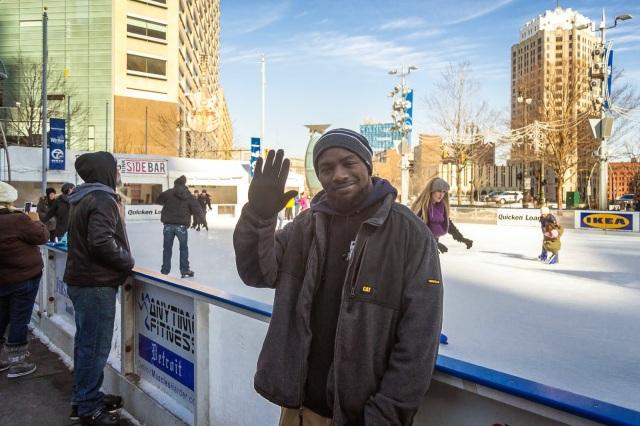 campus martius winter ice skating downtown detroit quicken loans