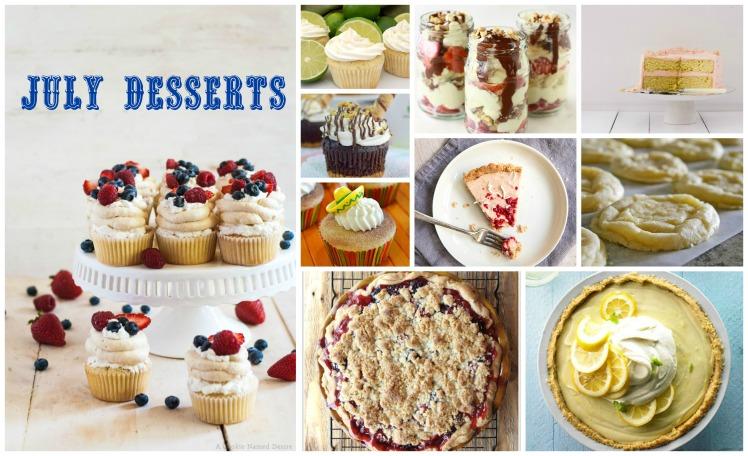 food, desserts