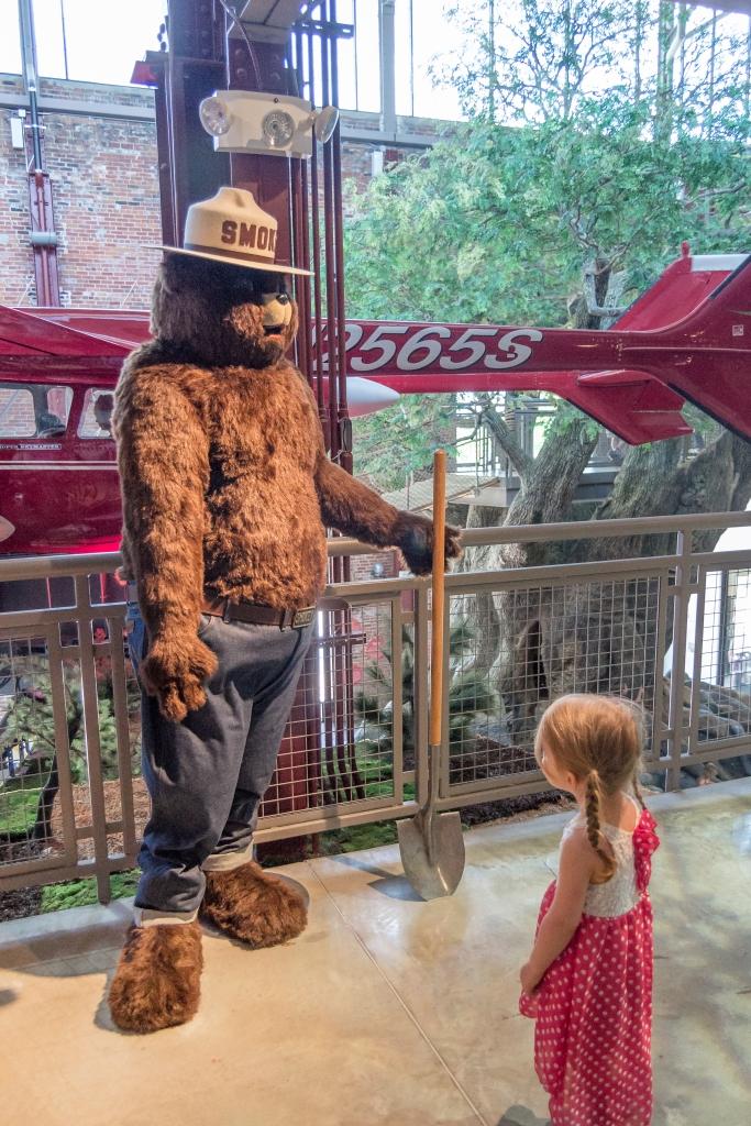 Smokey the Bear, Detroit Outdoor Adventure Center, Michigan