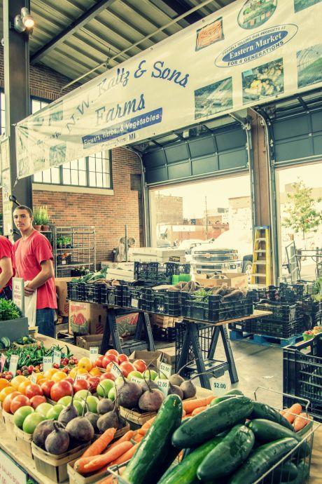 Eastern Market, Detroit, N.W. Kaltz & Sons Farm