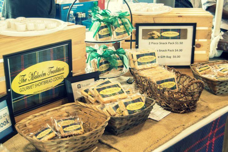 Eastern Market, Detroit, malcom tradition, shortbread cookies